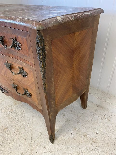 Impressive French  Antique French Chest Drawers - b06